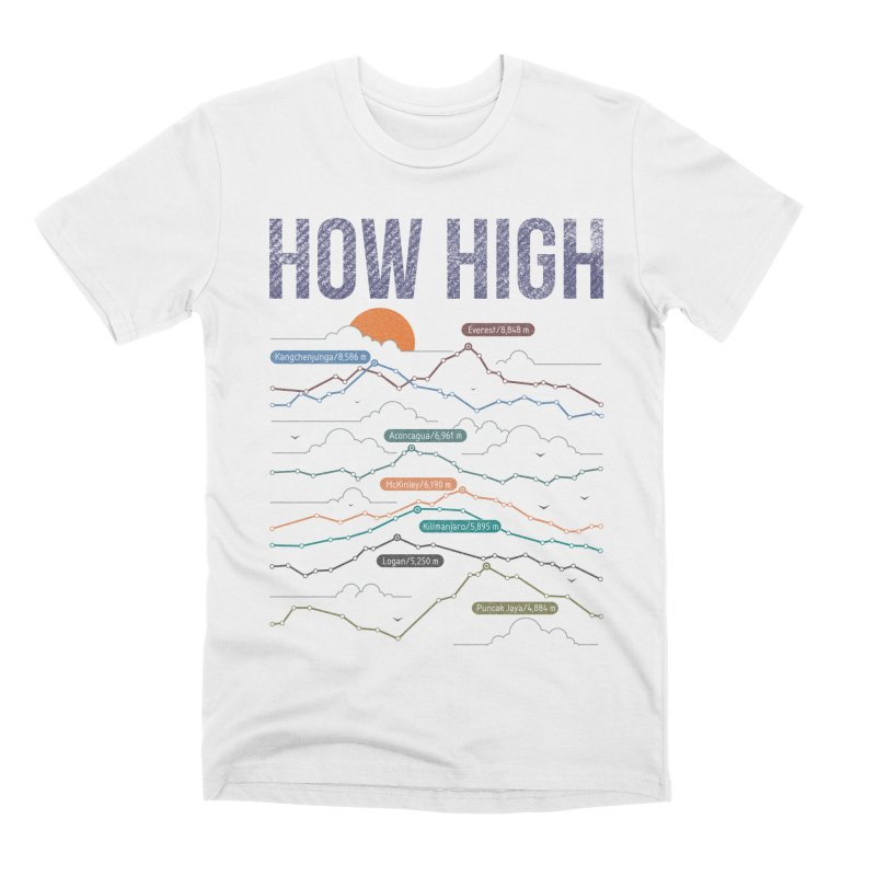 how high Men's Premium T-Shirt by muag's Artist Shop