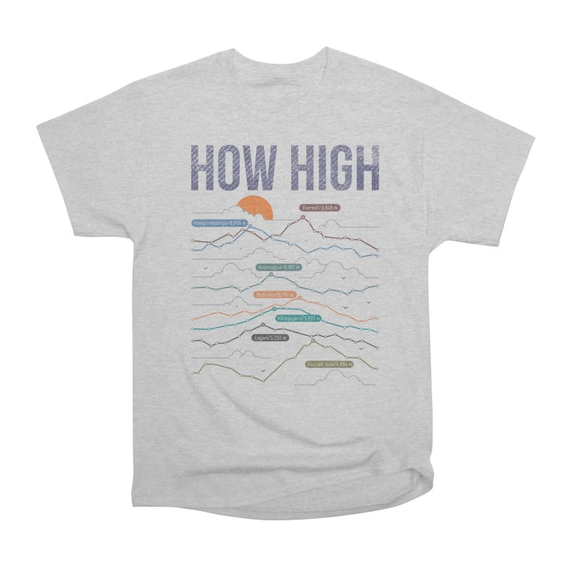 how high Women's Heavyweight Unisex T-Shirt by muag's Artist Shop