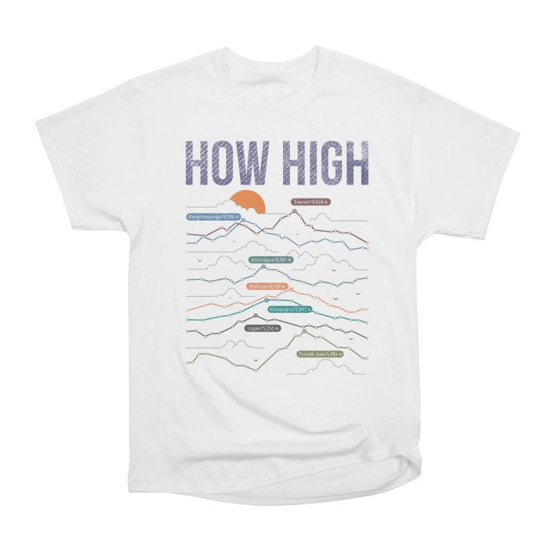 how high Women's Heavyweight Unisex T-Shirt by muag's Artist Shop