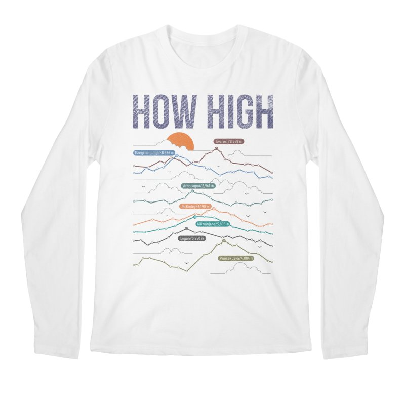 how high Men's Regular Longsleeve T-Shirt by muag's Artist Shop