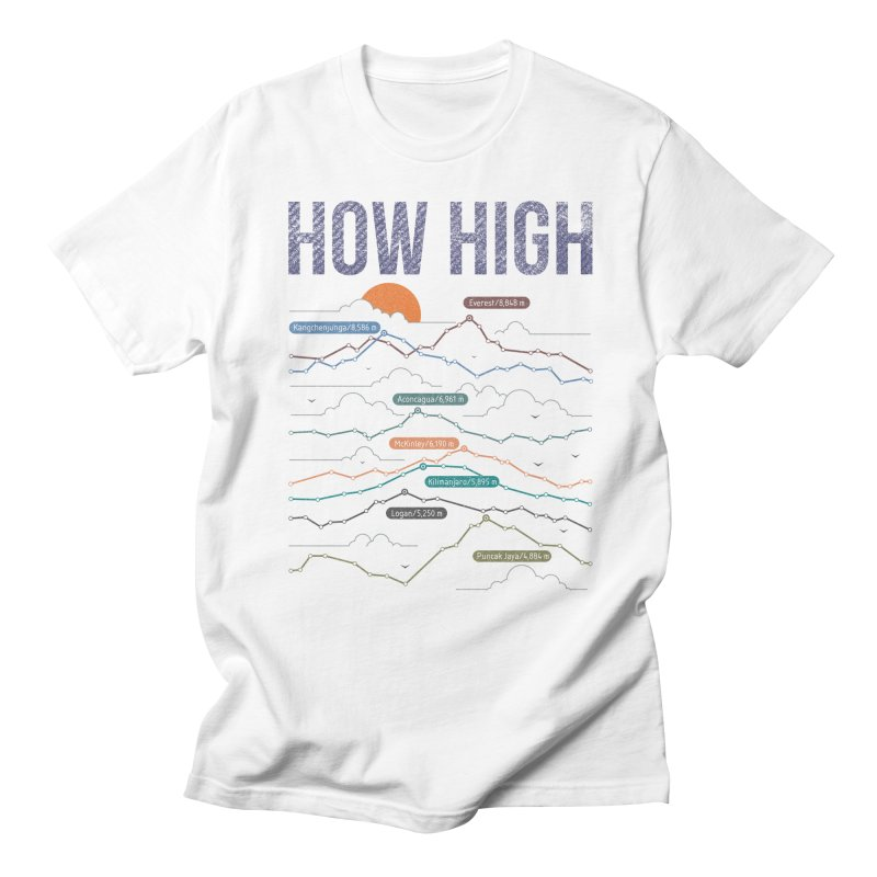 how high Men's Regular T-Shirt by muag's Artist Shop