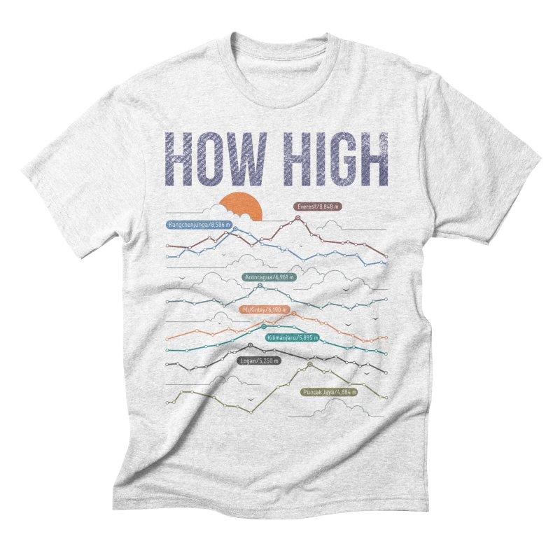 how high Men's Triblend T-shirt by muag's Artist Shop