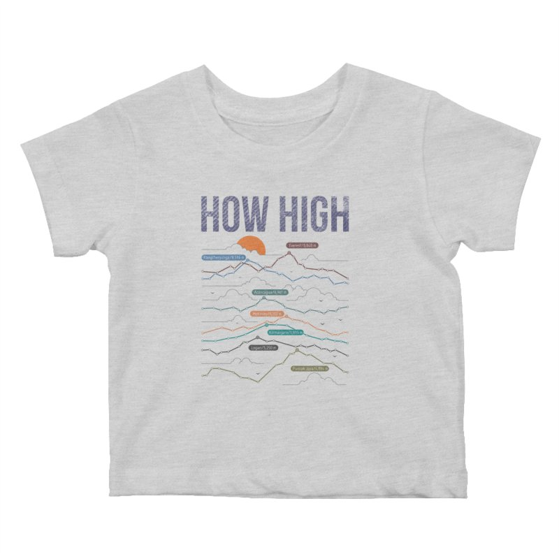 how high Kids Baby T-Shirt by muag's Artist Shop