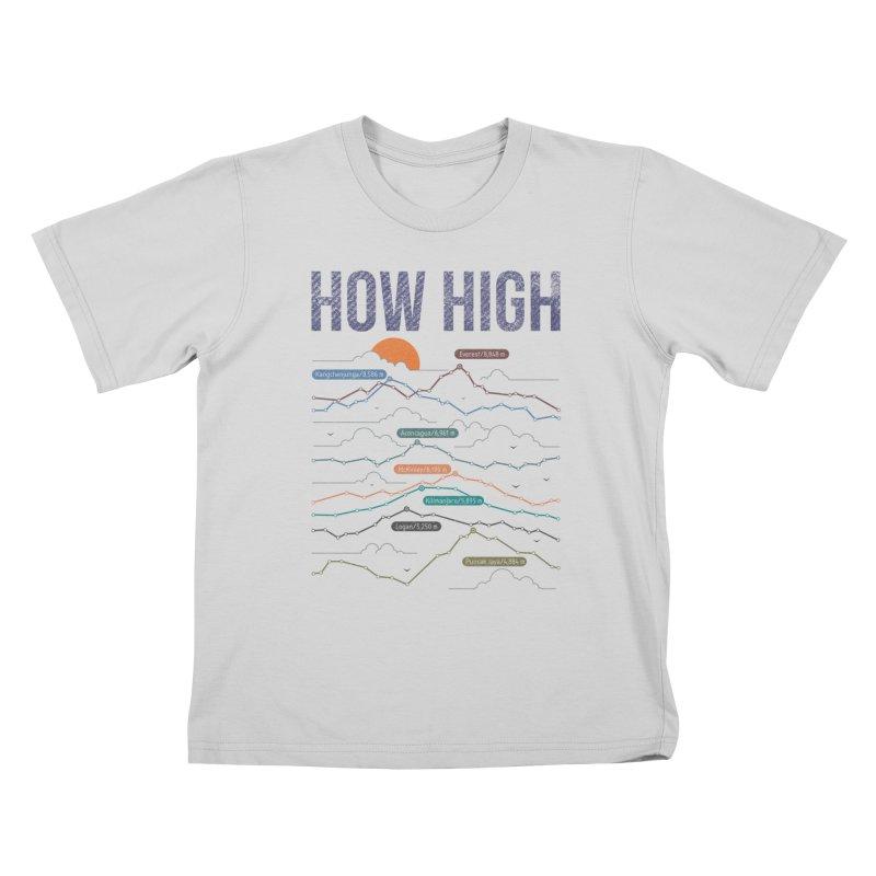 how high Kids T-Shirt by muag's Artist Shop