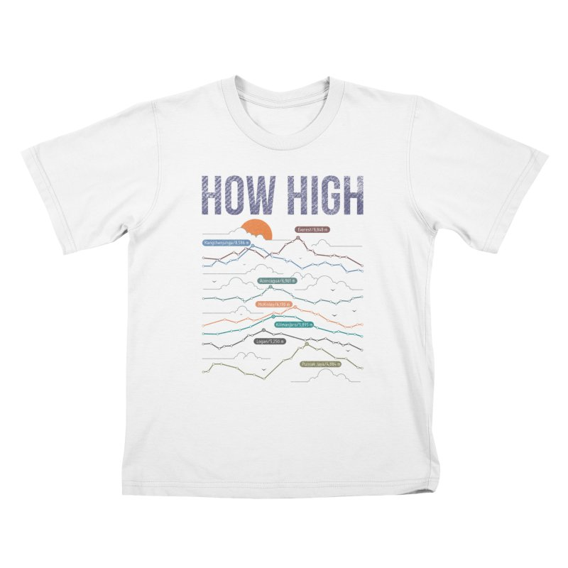 how high Kids T-Shirt by muag's Artist Shop