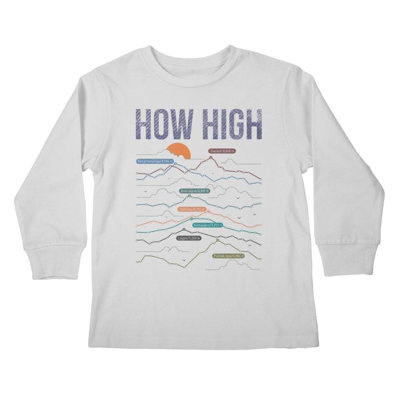 how high Kids Longsleeve T-Shirt by muag's Artist Shop