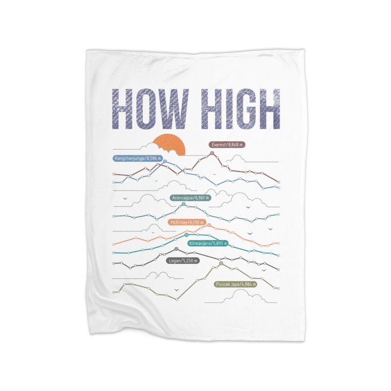 how high Home Blanket by muag's Artist Shop