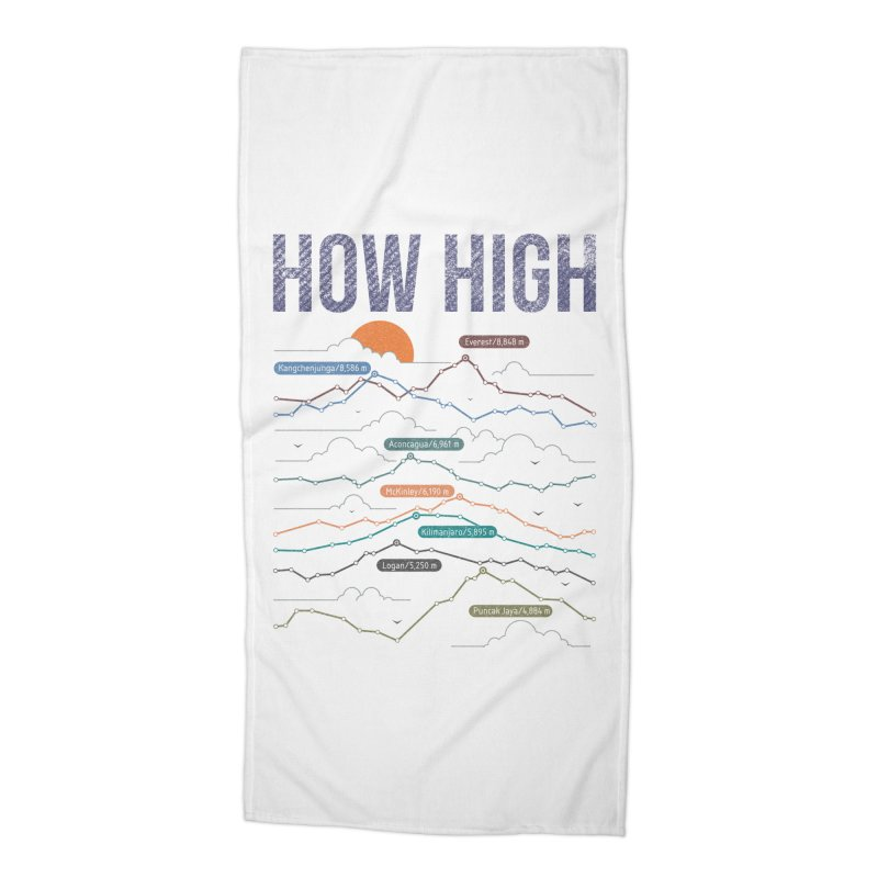 how high Accessories Beach Towel by muag's Artist Shop