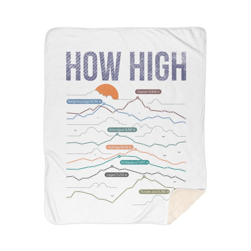 how high Home Sherpa Blanket Blanket by muag's Artist Shop