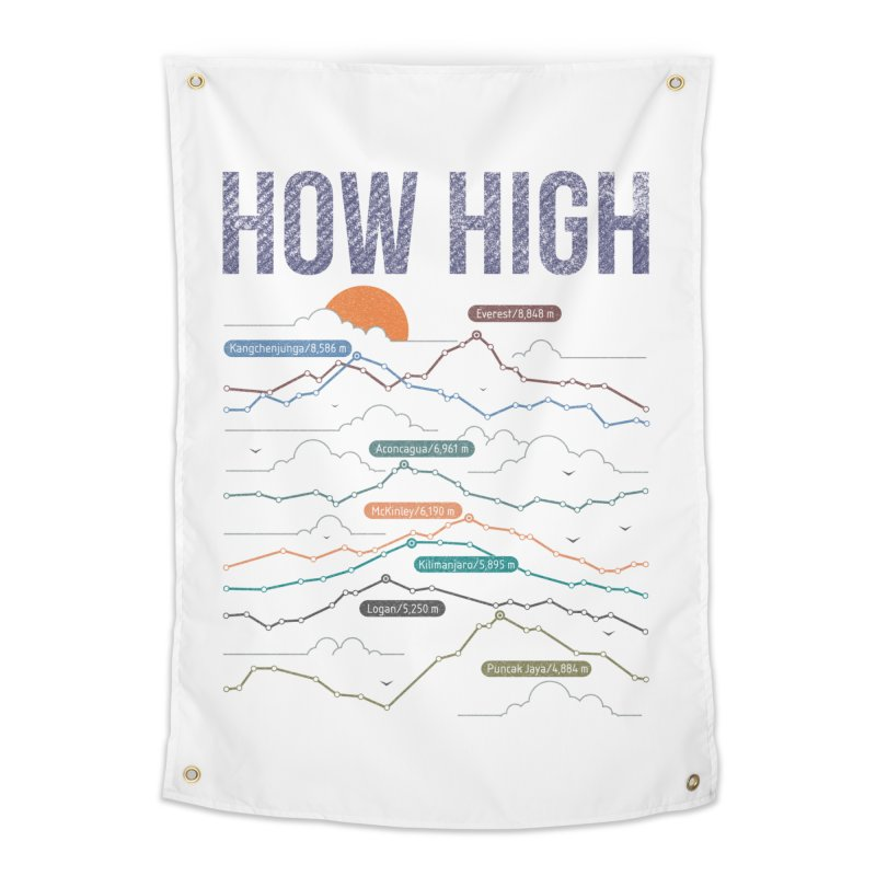 how high Home Tapestry by muag's Artist Shop