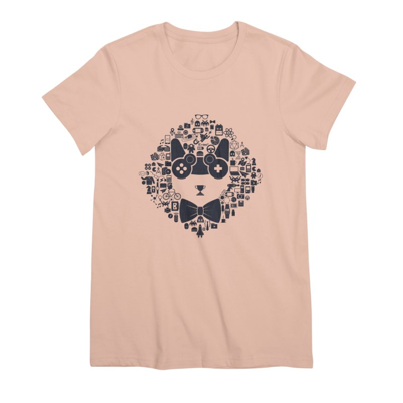 nerd trip Women's Premium T-Shirt by muag's Artist Shop