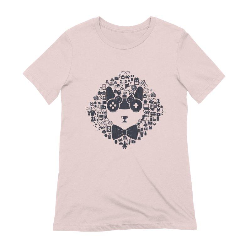 nerd trip Women's Extra Soft T-Shirt by muag's Artist Shop