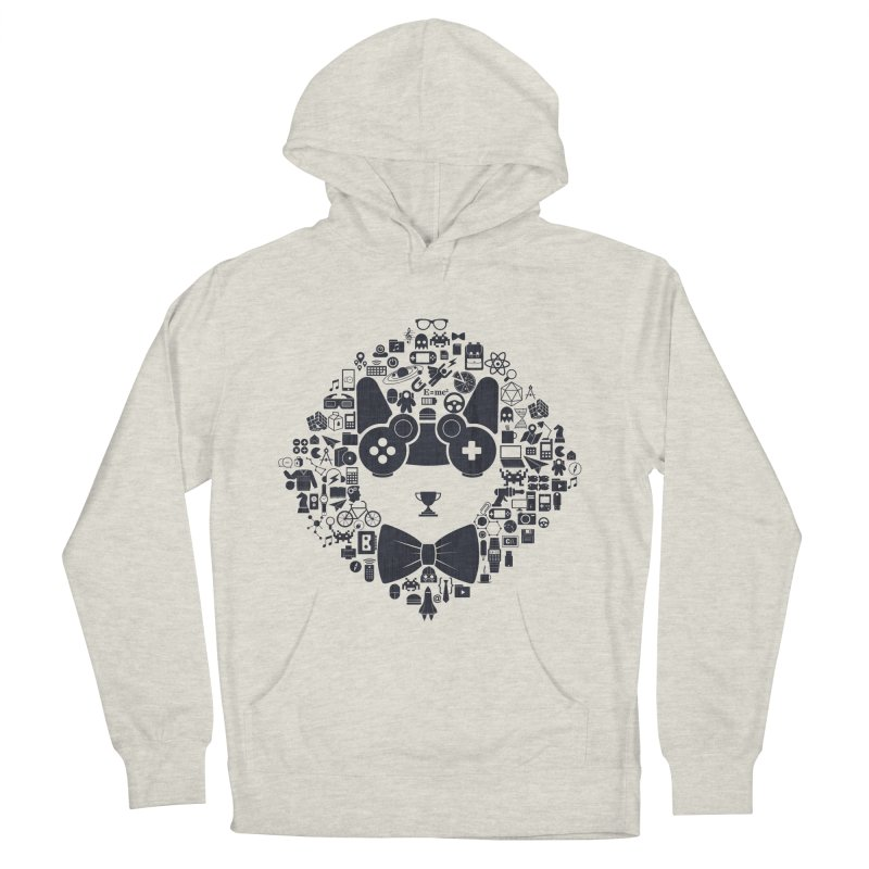 nerd trip Women's French Terry Pullover Hoody by muag's Artist Shop