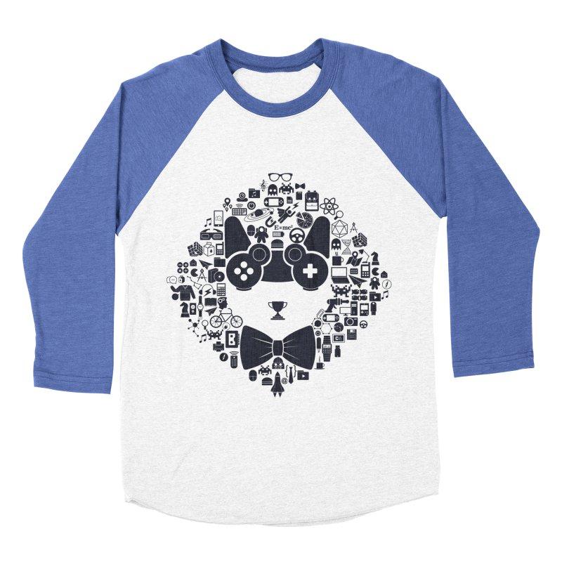 nerd trip Women's Baseball Triblend Longsleeve T-Shirt by muag's Artist Shop
