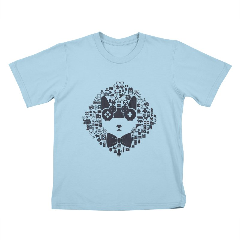 nerd trip Kids T-Shirt by muag's Artist Shop