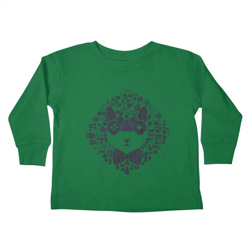 nerd trip Kids Toddler Longsleeve T-Shirt by muag's Artist Shop