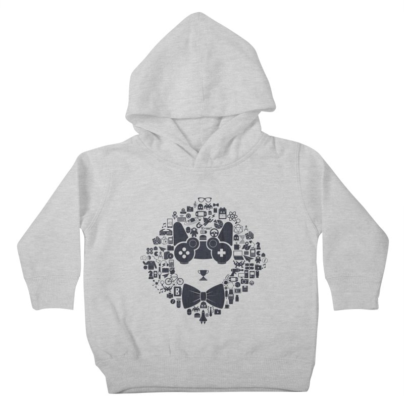 nerd trip Kids Toddler Pullover Hoody by muag's Artist Shop