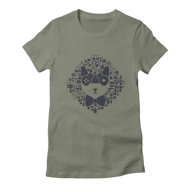 nerd trip Women's Fitted T-Shirt by muag's Artist Shop