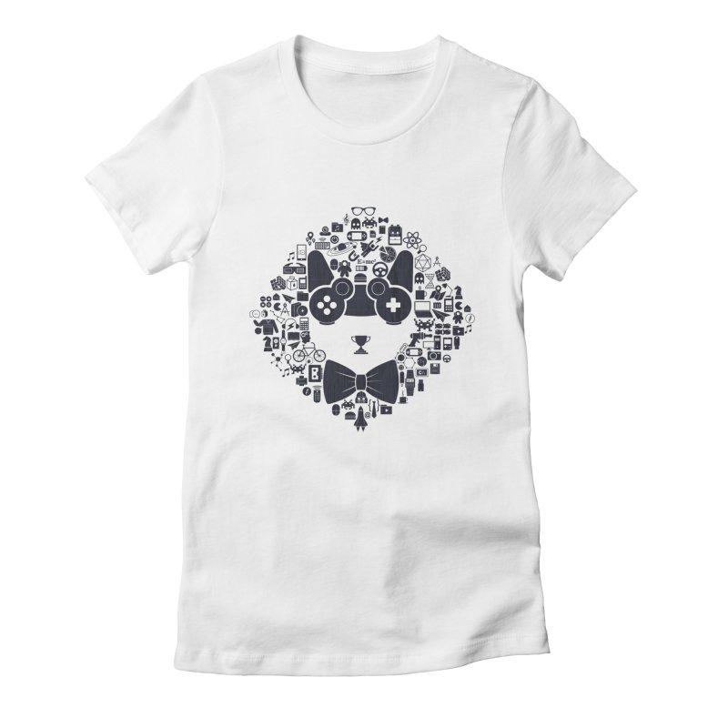 nerd trip Women's Fitted T-Shirt by muag's Artist Shop