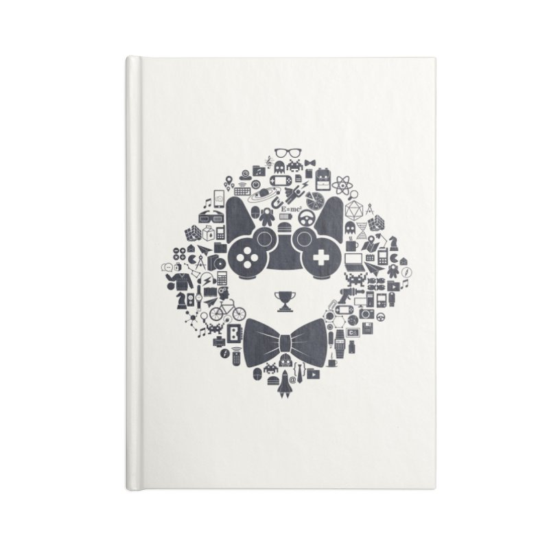 nerd trip Accessories Lined Journal Notebook by muag's Artist Shop