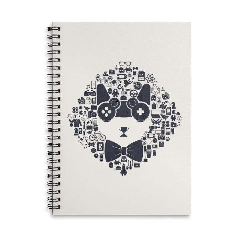 nerd trip Accessories Notebook by muag's Artist Shop