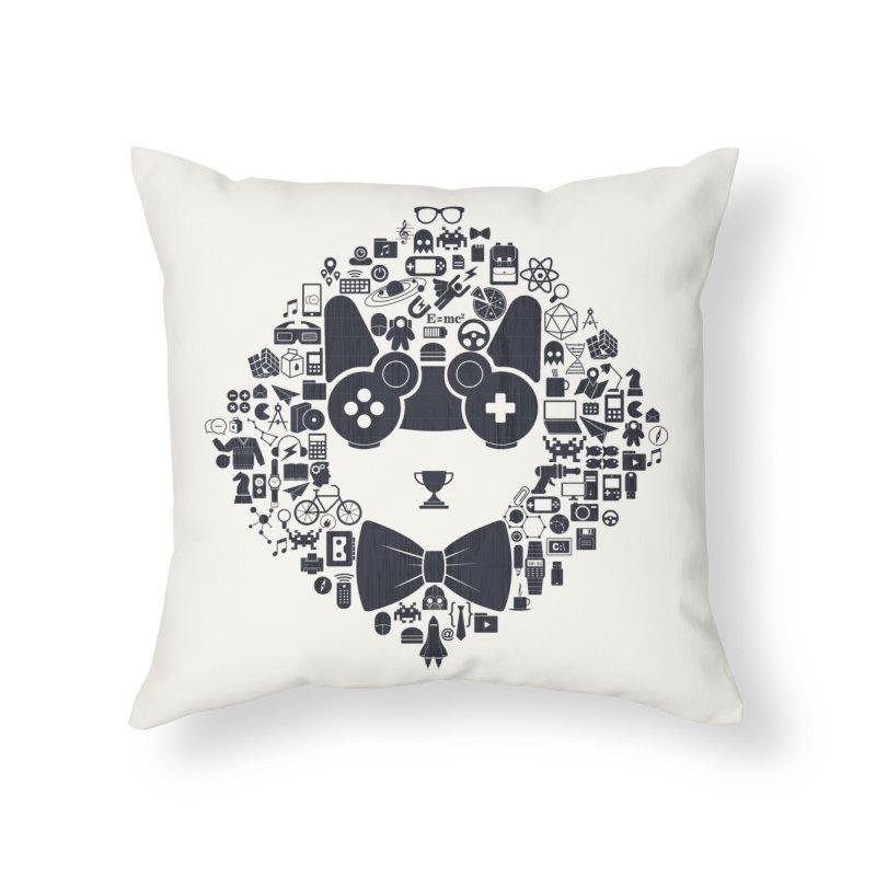 nerd trip Home Throw Pillow by muag's Artist Shop