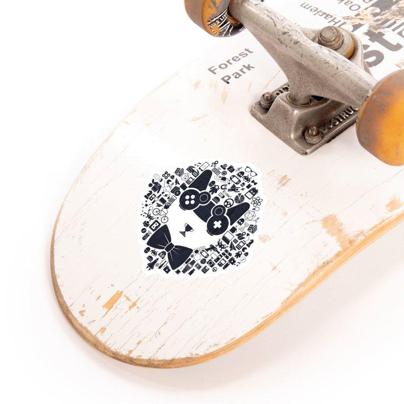 nerd trip Accessories Sticker by muag's Artist Shop