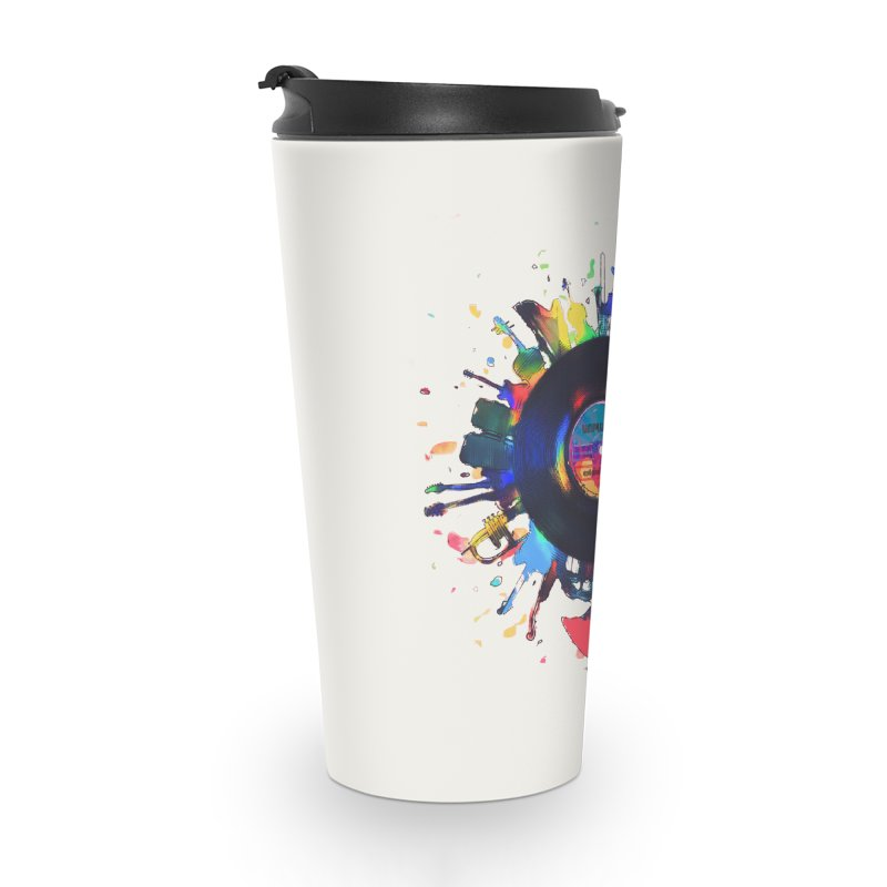 unplugged Accessories Travel Mug by muag's Artist Shop