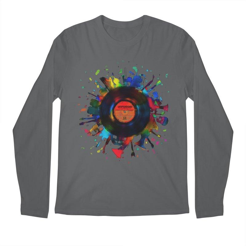 unplugged Men's Longsleeve T-Shirt by muag's Artist Shop