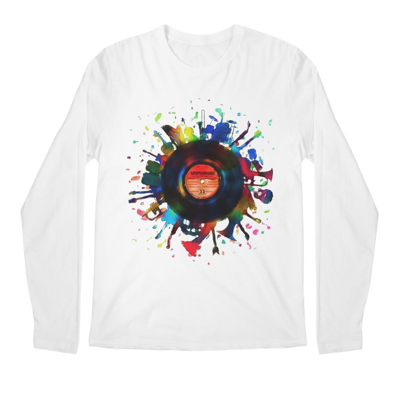 unplugged Men's Longsleeve T-Shirt by muag's Artist Shop