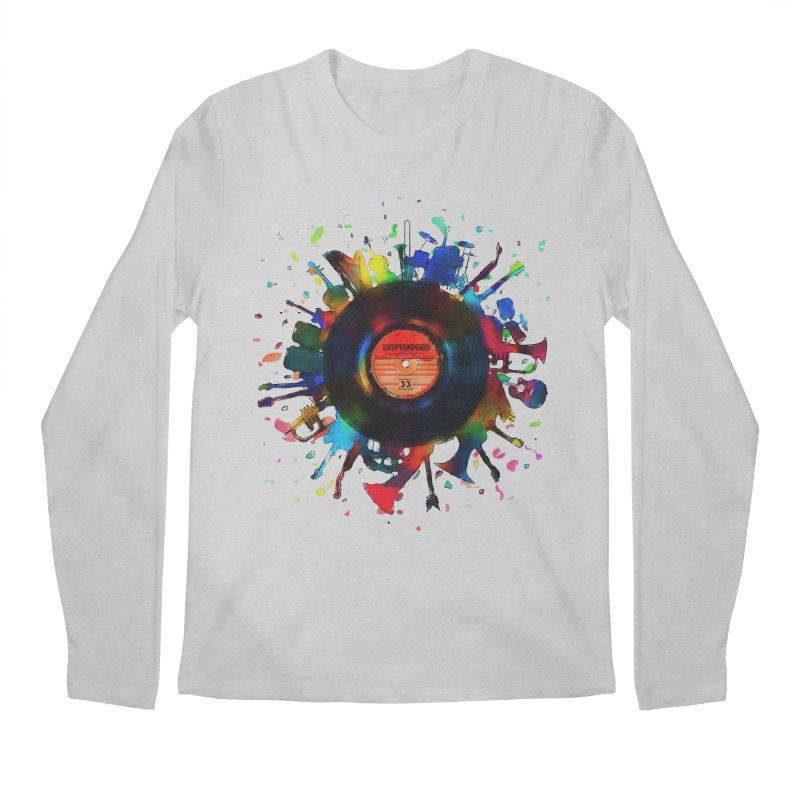 unplugged Men's Regular Longsleeve T-Shirt by muag's Artist Shop