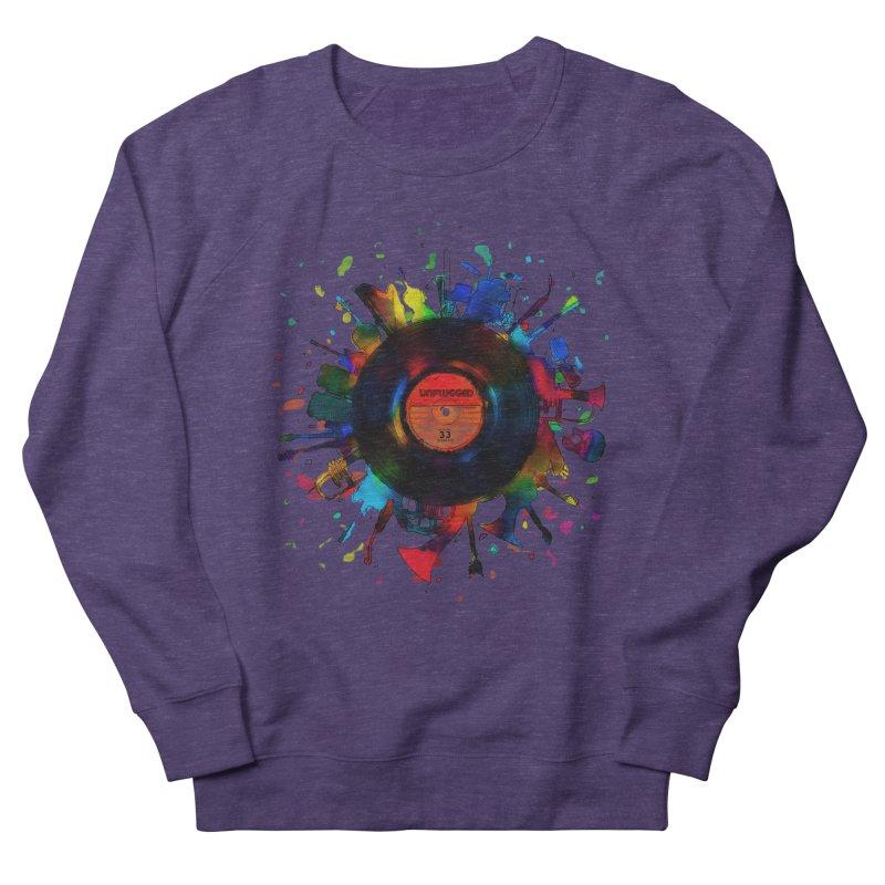unplugged Women's Sweatshirt by muag's Artist Shop