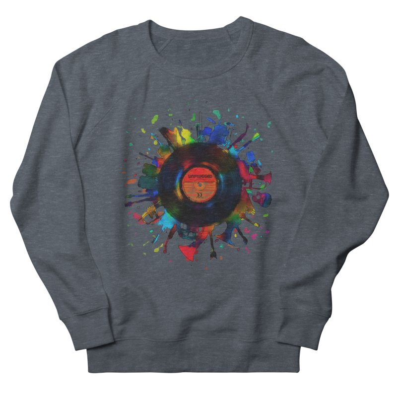 unplugged Women's Sweatshirt by muag's Artist Shop
