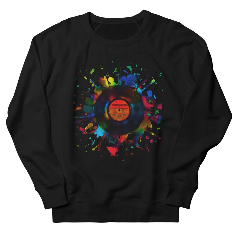 unplugged Men's Sweatshirt by muag's Artist Shop