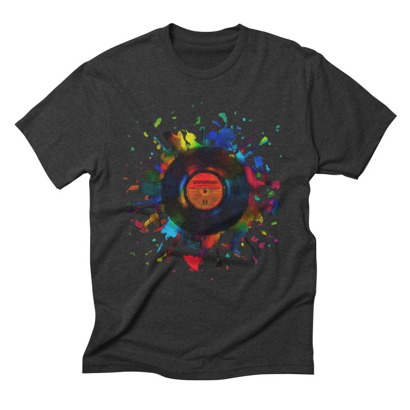 unplugged Men's Triblend T-Shirt by muag's Artist Shop