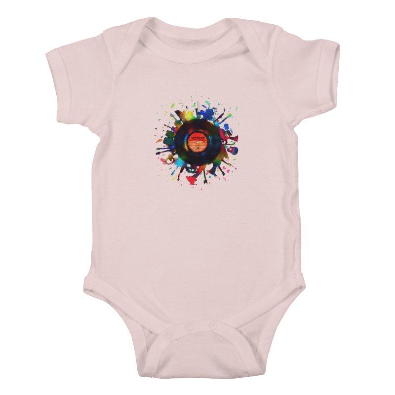 unplugged Kids Baby Bodysuit by muag's Artist Shop