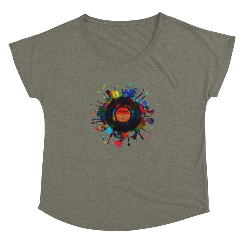 unplugged Women's Dolman by muag's Artist Shop