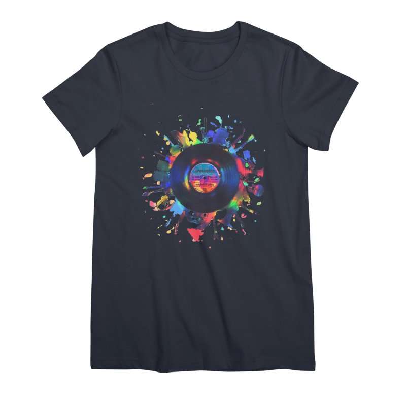 unplugged Women's Premium T-Shirt by muag's Artist Shop