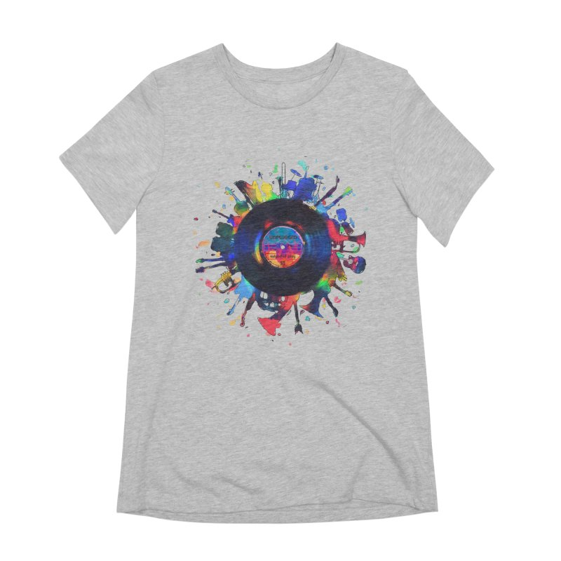 unplugged Women's Extra Soft T-Shirt by muag's Artist Shop