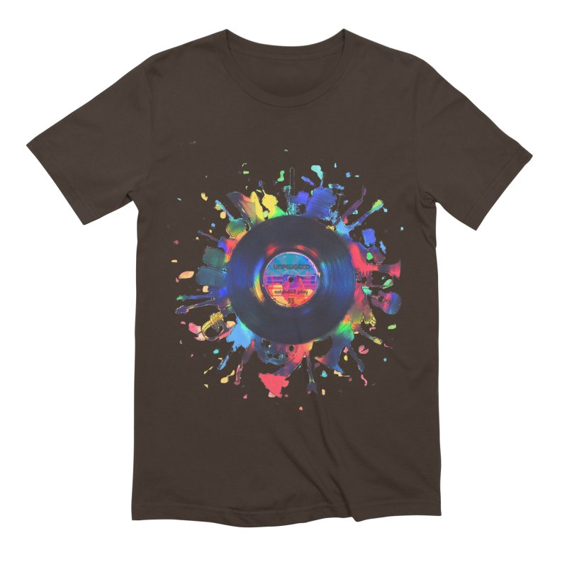 unplugged Men's Extra Soft T-Shirt by muag's Artist Shop