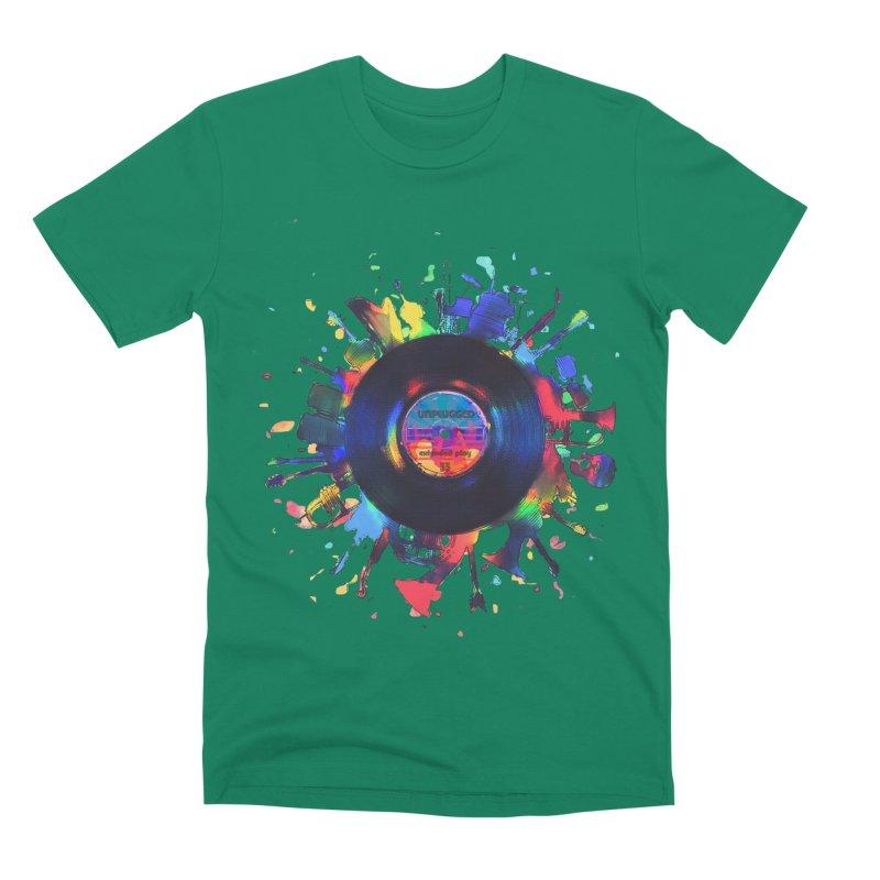 unplugged Men's Premium T-Shirt by muag's Artist Shop