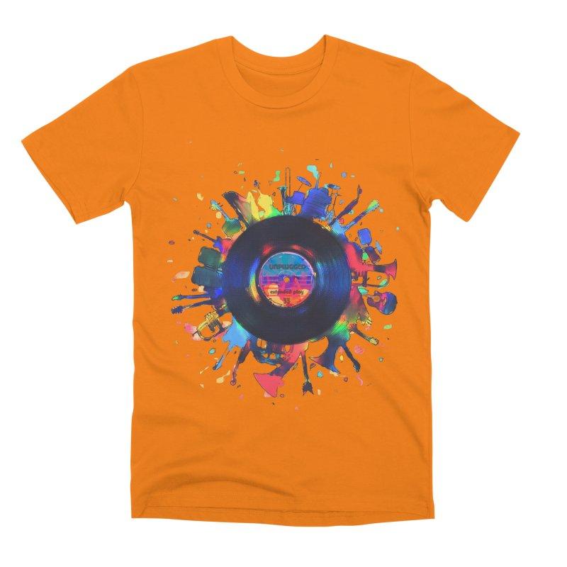 unplugged Men's T-Shirt by muag's Artist Shop
