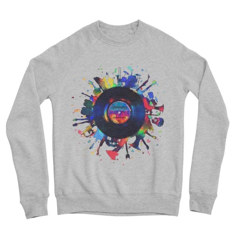 unplugged Women's Sponge Fleece Sweatshirt by muag's Artist Shop