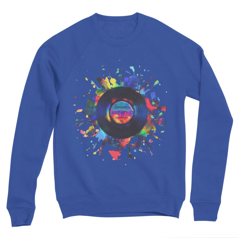 unplugged Men's Sponge Fleece Sweatshirt by muag's Artist Shop