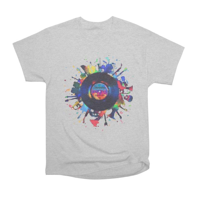 unplugged Men's Heavyweight T-Shirt by muag's Artist Shop