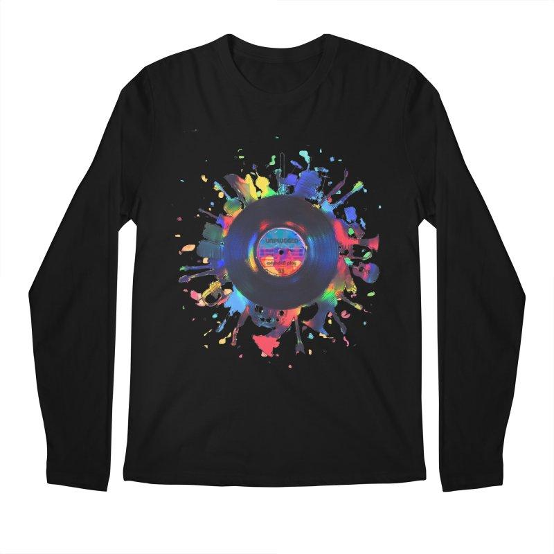 unplugged Men's Regular Longsleeve T-Shirt by muag's Artist Shop