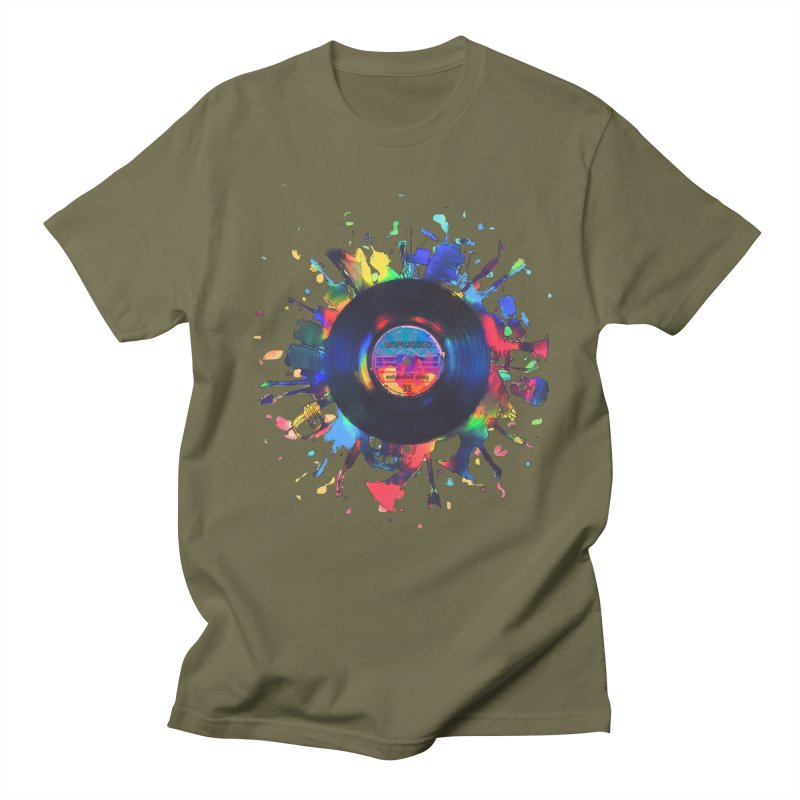 unplugged Women's T-Shirt by muag's Artist Shop