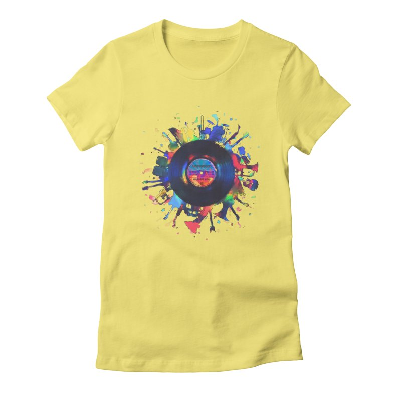 unplugged Women's T-Shirt by muag's Artist Shop