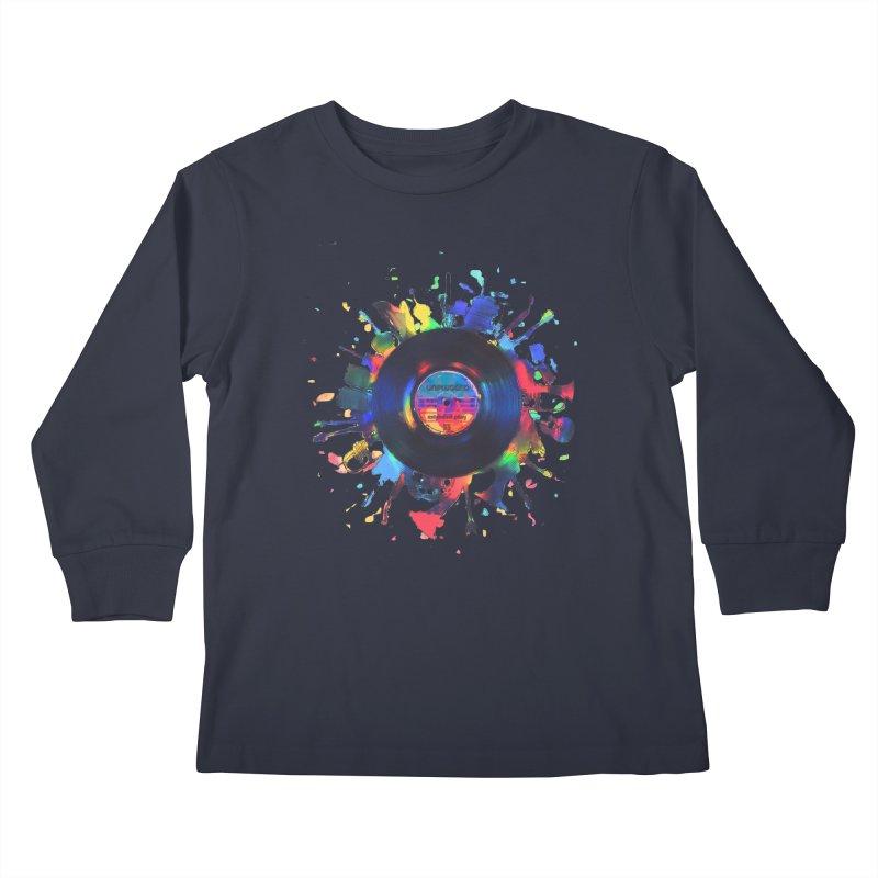 unplugged Kids Longsleeve T-Shirt by muag's Artist Shop
