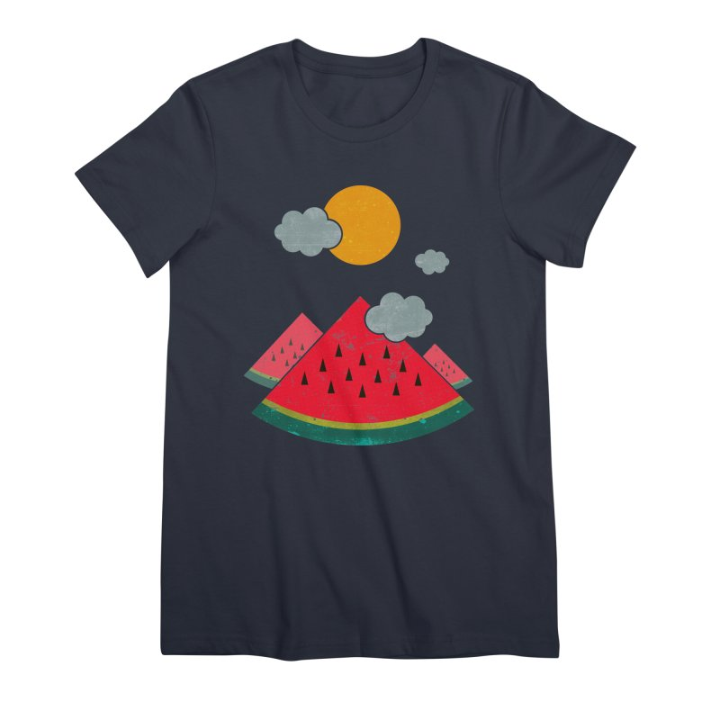 eatventure time! Women's T-Shirt by muag's Artist Shop